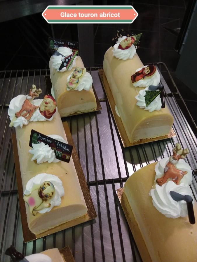 Glacées Abricot Touron